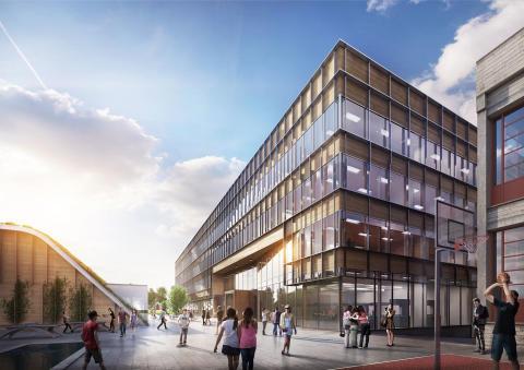 Heimdal videregående skole - LINK arkitektur