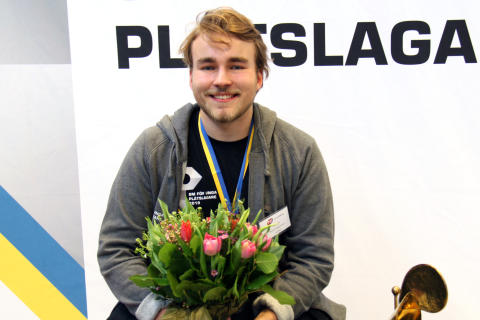 Olle Spetz vann guld i SM för unga plåtslagare!