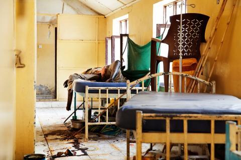 Sydsudans treårsdag: Sjukvård måltavla i konflikten