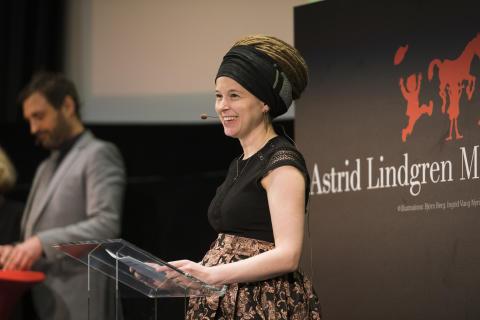 ALMA-priset 2019 (Amanda Lind)