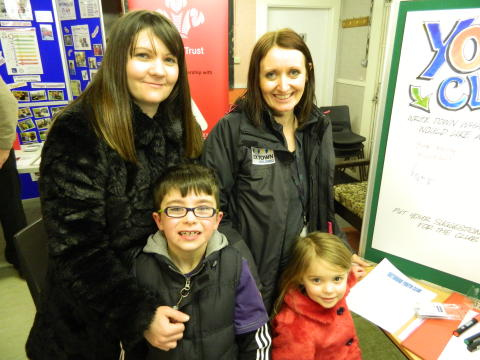 Tenants and residents show support for proposed youth club at community fun day