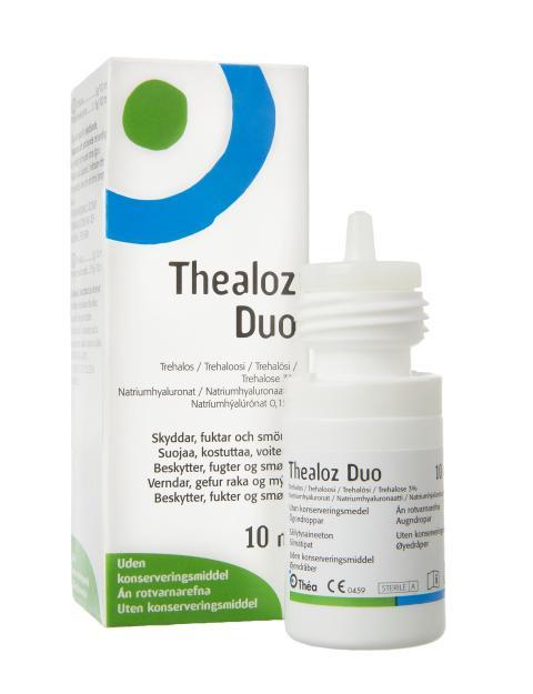 Thealoz Duo ögondroppar mot torra ögon
