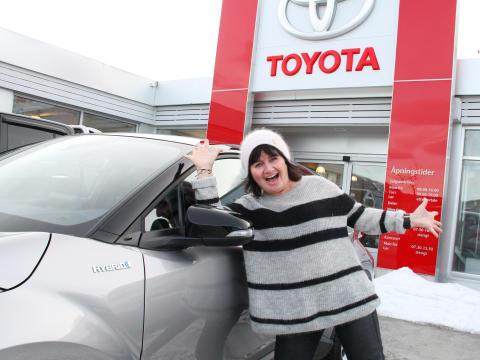 Gratulerer med Toyota C-HR!