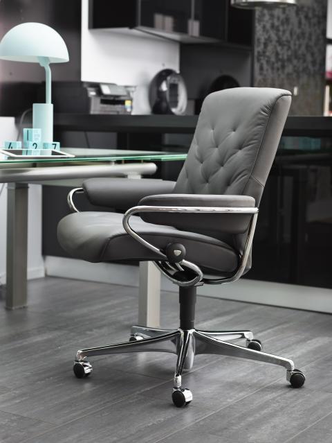 Stressless Metro Office Paloma Metal Grey