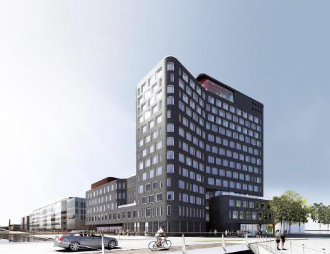 Skanska investerar 680 miljoner kronor i projektet Tyfonen i Malmö