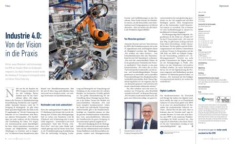 Industrie 4.0: Von der Vision in die Praxis