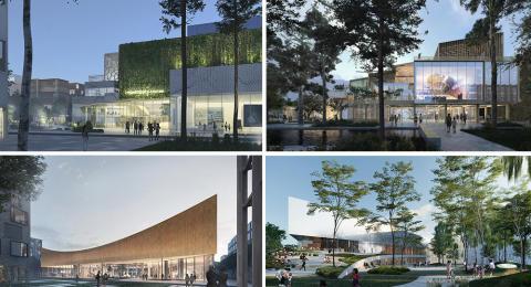 Spektakulära arkitektförslag för nytt Science Center i Lund