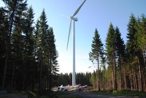 Inbjudan till öppet hus i Högtjärnsklacks vindpark
