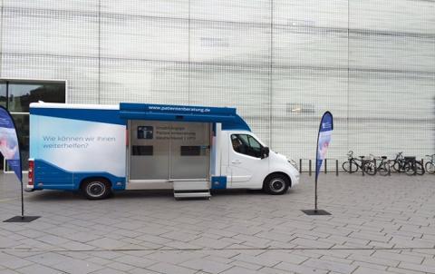 Beratungsmobil der Unabhängigen Patientenberatung kommt am 11. Februar nach Koblenz.