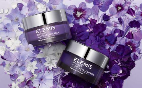 ELEMIS Peptide4 Adaptive Day Cream and Plumping Pillow Facial