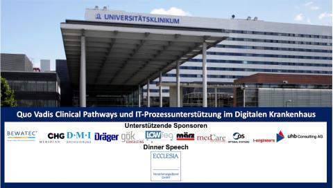 In zwei Wochen - 25.-26.03.2020: Entscheider-Werkstatt - Quo Vadis Clinical Pathways und IT-Prozessunterstützung im Digitalen Krankenhaus