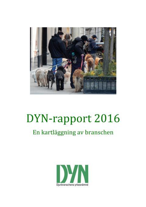 DYN-rapport 2016 – en kartläggning av djurbranschen