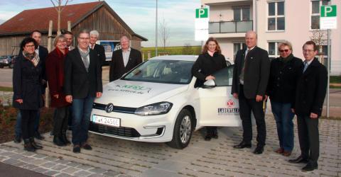 Bayernwerk unterstützt E-Carsharing im Landkreis Regensburg