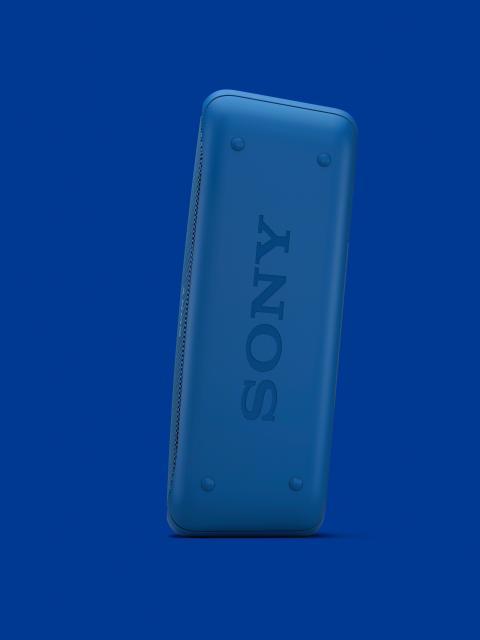 SRS-XB40 von Sony_blau_12