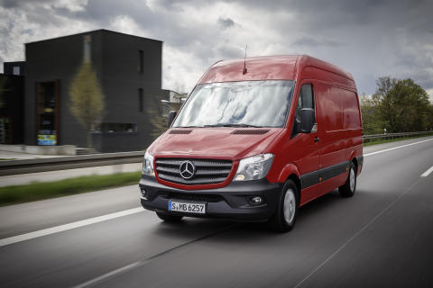 Mercedes-Benz varebiler Sprinter derudad