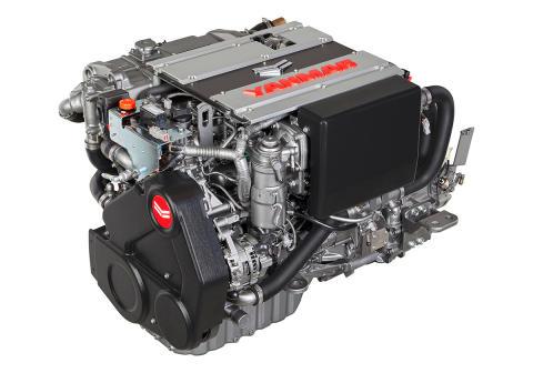Hi-res image - YANMAR - YANMAR 4LV Series of common rail engines (left side front)