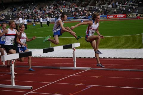 Uppsalastudenten Daniel Lundgren missade finalen på 3 000 m hinder på Universiaden – studentidrottens motsvarighet till ett olympiskt spel