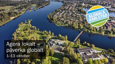 Pressinbjudan: Film på Rådhusets fasad inviger Globala Karlstad