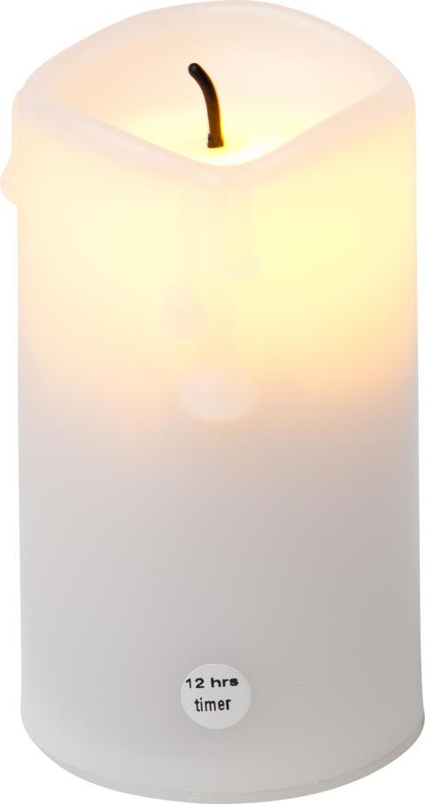 Ljus med skymnisingssensor litet vitt