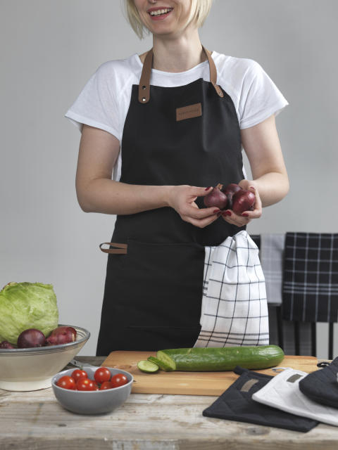 Apron and kitchen towel Hanna classic