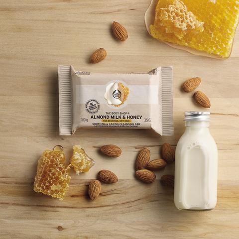 Almond Milk & Honey Soap Bar_kr59