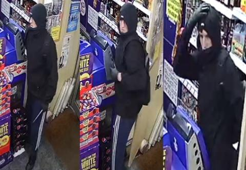 CCTV released following knifepoint robbery in Millbrook store