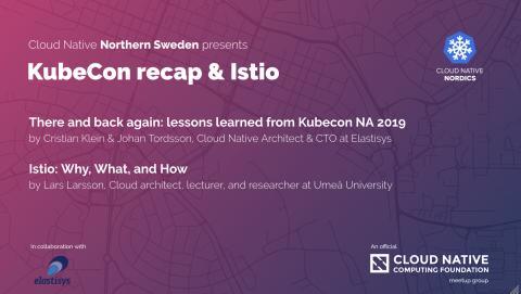 KubeCon recap & Istio