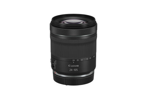 RF 24-105mm F4-7.1 IS STM  BK WITH CAP FRA