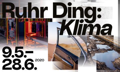 Ruhr Ding: Klima – Einladung zur Pressekonferenz am 26. März 2020