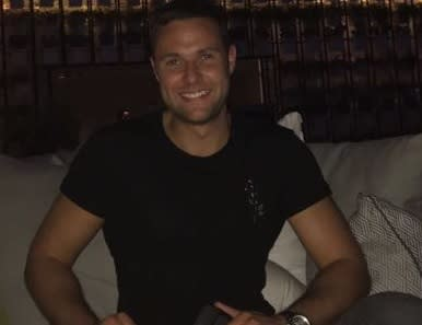Scotsman Jamie Harron sentenced today to 3 months in Dubai jail for brushing up against man in crowded bar