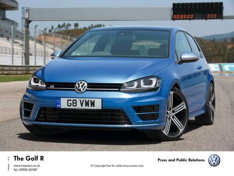 Order books open for range-topping 300 PS #Volkswagen Golf R