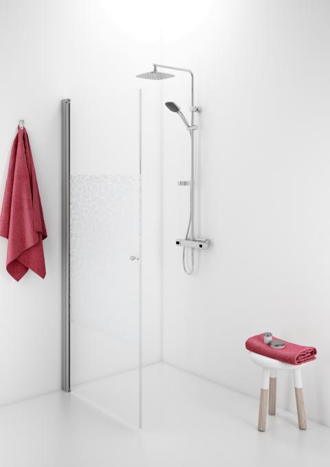 IDO Showerama 10-01 suora suihkuseinä