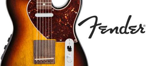 FENDER® INTRODUCES THE ACOUSTASONIC TELE®