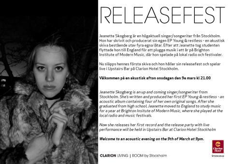 Releasefest - Jeanette Skogberg