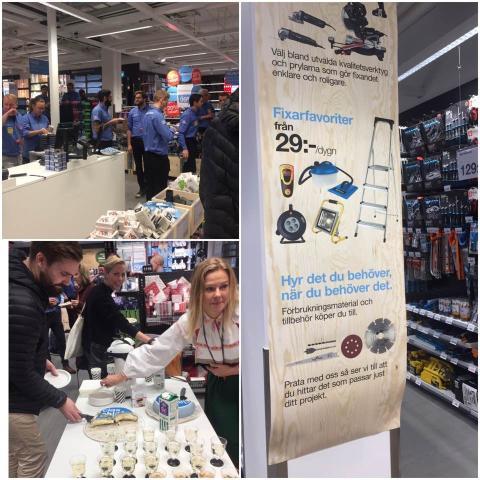 Hornstull får Sveriges första Clas Ohlson Compact Store.
