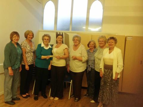 New River Women's Club raise over £600 for children's charity