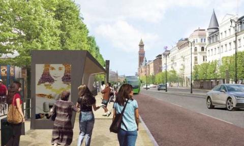 Helsingborg växer, det innebär nya projekt
