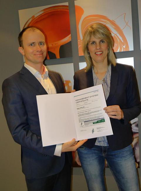 DNV GL og Ragn-Sells med norges første samfunnsansvarsertifikat