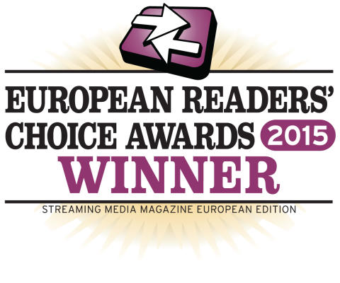 Xstream wins Streaming Media Europe Readers' choice award for Best Multi-screen solution