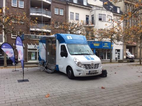 Beratungsmobil der Unabhängigen Patientenberatung kommt am 29. Januar nach Wilhelmshaven.