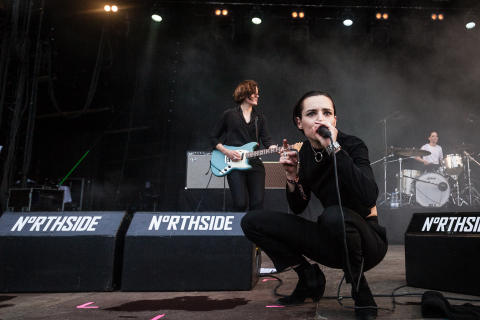 Savages - NorthSide 2015