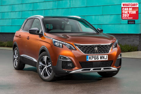 The Peugeot 3008 - Thatcham Research sponsored What Car? Safety Award 2017 Runner-Up