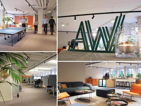 Academic Work skapade nytt kontor med hemmakänsla