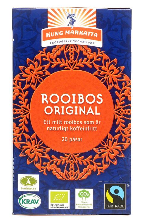 Rooibos Krav Fairtrade Äkta Vara