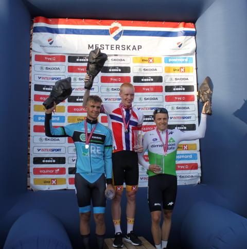 Byberg, Staune-Mittet, Heine og Leknessund vant NM Tempo 2019 i Kongsvinger