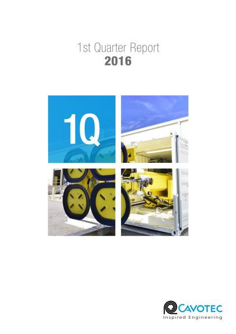 Cavotec 1Q16 Report (PDF)