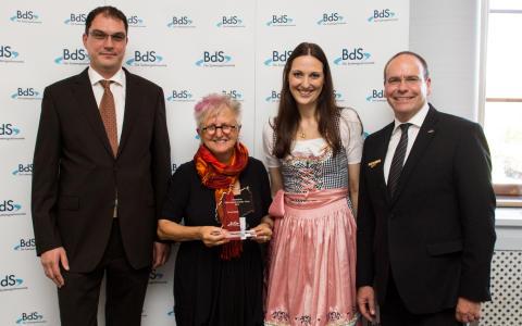 BdS-Mittagsempfang 2014 - Verleihung Deutscher Systemgastronomie-Preis 2014 an  Gretel Weiß