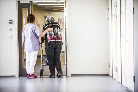 Tilskudd til 2450 omsorgsplasser i fjor