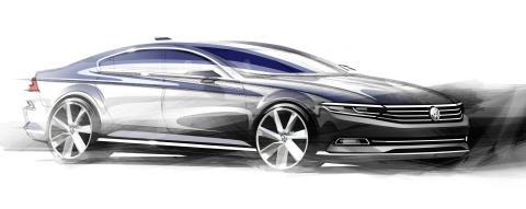 Volkswagen reveals first details of hi-tech all new Passat