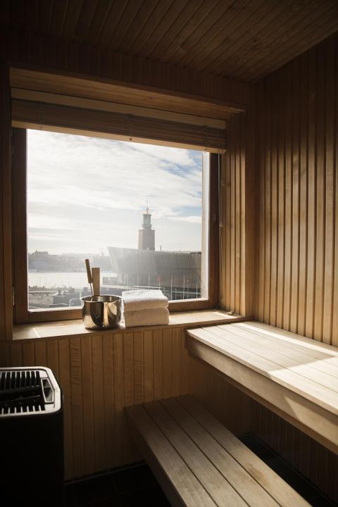 9. Royal Viking Hotel, Stockholm – Egen ångbastu på rummet